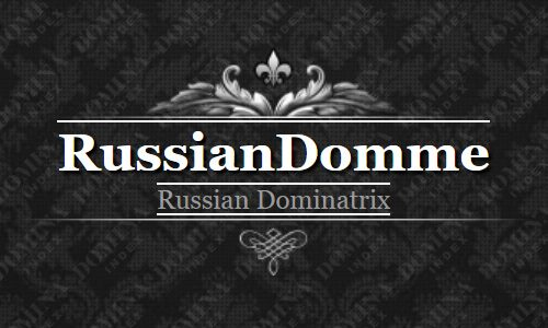Russian Domme